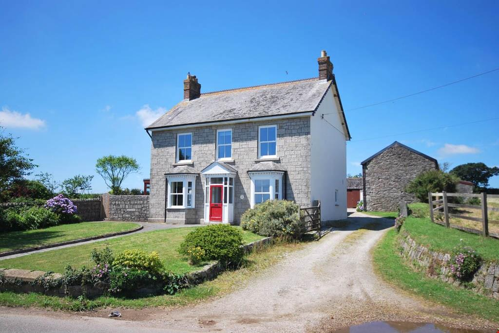 4 Bedrooms Farm House Character Property for sale in Townshend, Nr. Hayle, Cornwall, TR27