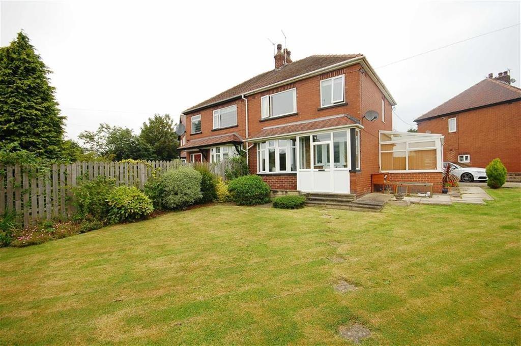 3 Bedrooms Semi Detached House for sale in Brexdale Avenue, Kippax, Leeds, LS25