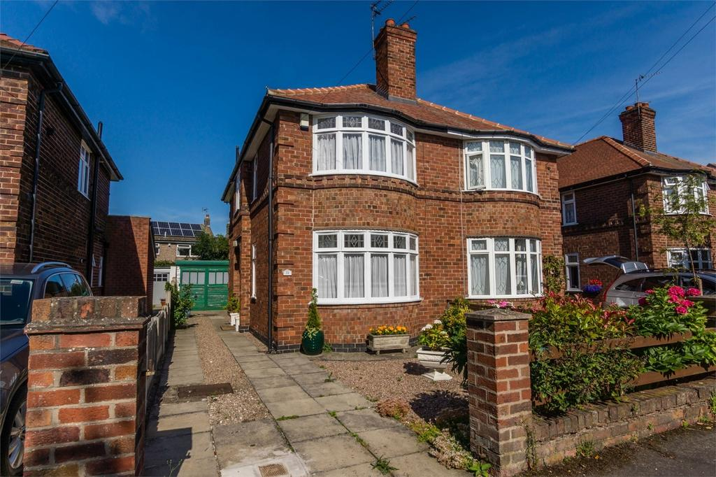 2 Bedrooms Semi Detached House for sale in Trentholme Drive, off Tadcaster Road, York