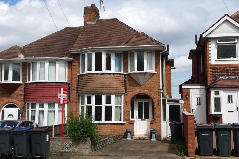 2 Bedrooms Semi Detached House for sale in Upper Meadow Road, Quinton, Birmingham
