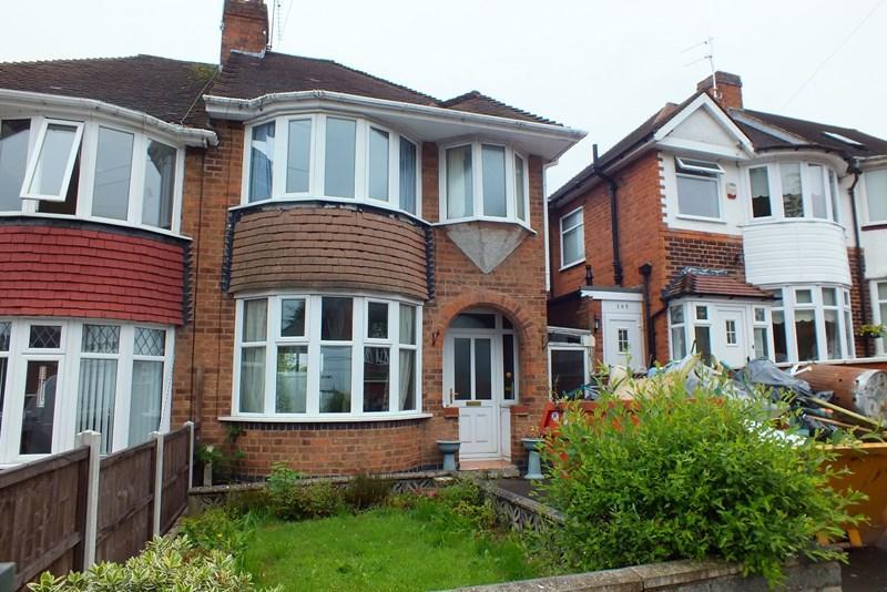 2 Bedrooms Semi Detached House for sale in Upper Meadow Road, Quinton, Birmingham