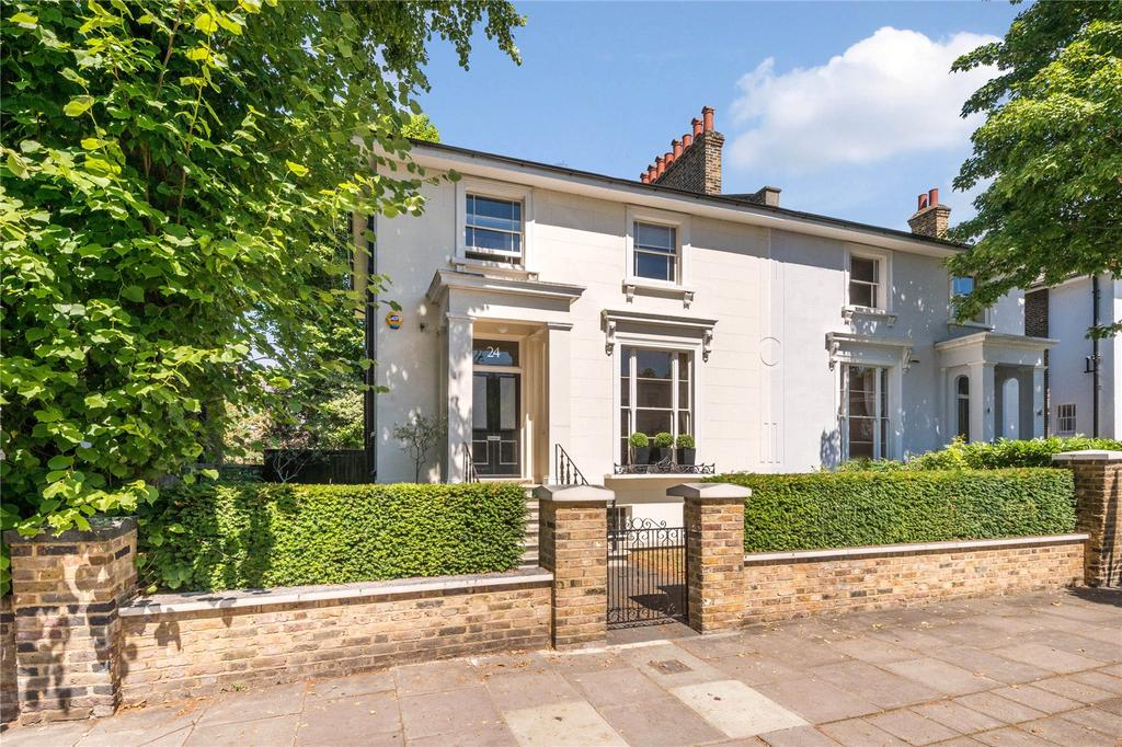 5 Bedrooms Semi Detached House for sale in Clifton Hill, St John's Wood