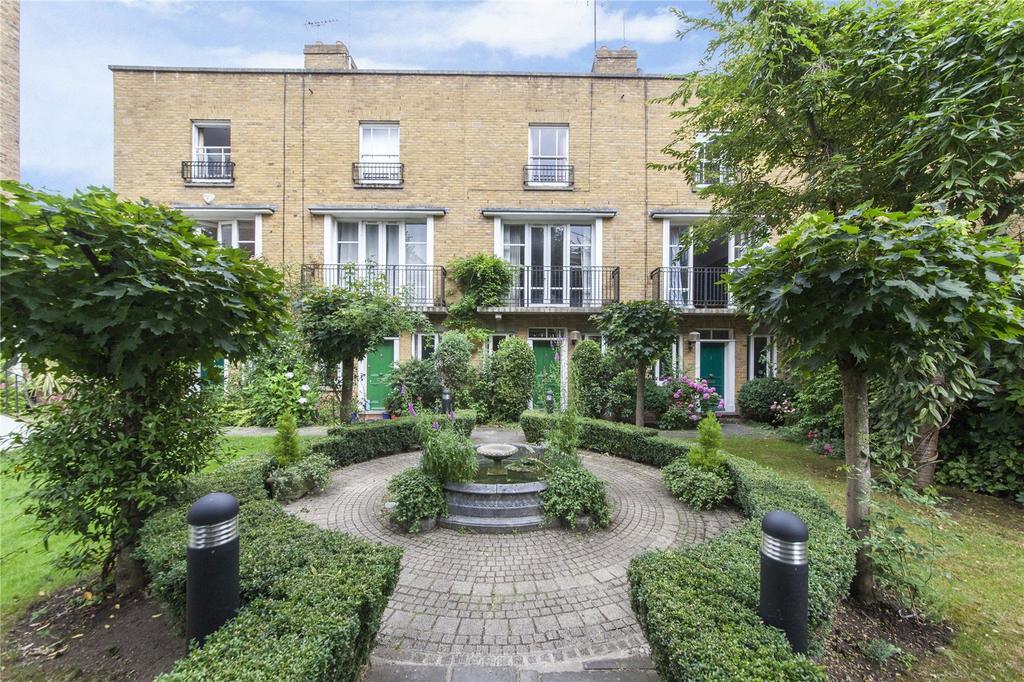 4 Bedrooms Terraced House for sale in Deacons Terrace, Harecourt Road, Islington, London