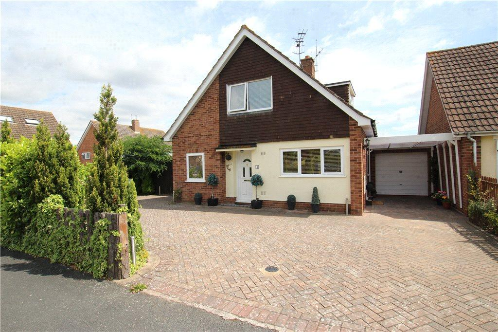 3 Bedrooms Detached Bungalow for sale in Bramley Close, Colletts Green, Powick, Worcestershire, WR2