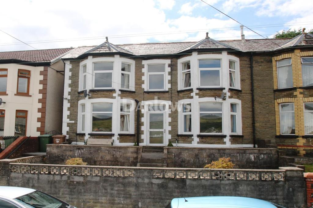 4 Bedrooms Semi Detached House for sale in Southend Terrace Pontlottyn