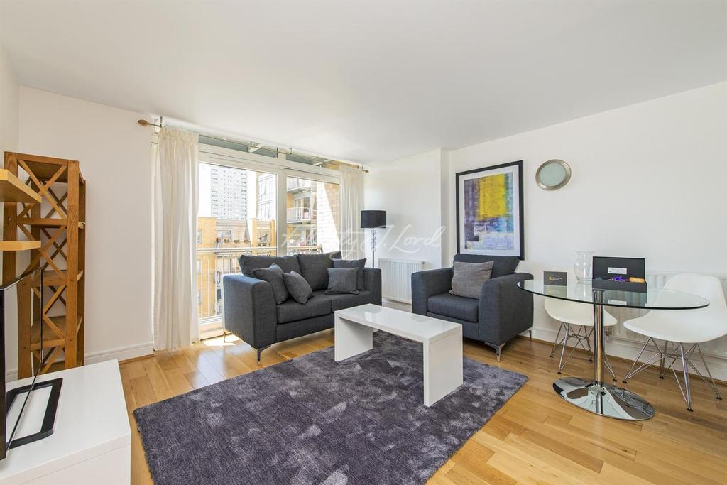 1 Bedroom Flat for sale in South Quay, Canary Wharf, E14