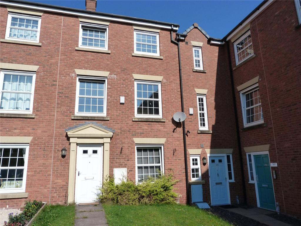 3 Bedrooms Town House for sale in Gibson Close, Kingsley Village, Nantwich, Cheshire, CW5