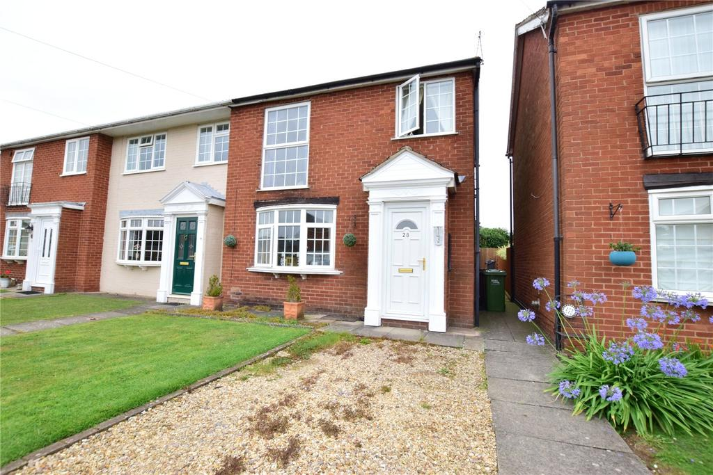 3 Bedrooms Semi Detached House for sale in Western Road, Asfordby, Melton Mowbray