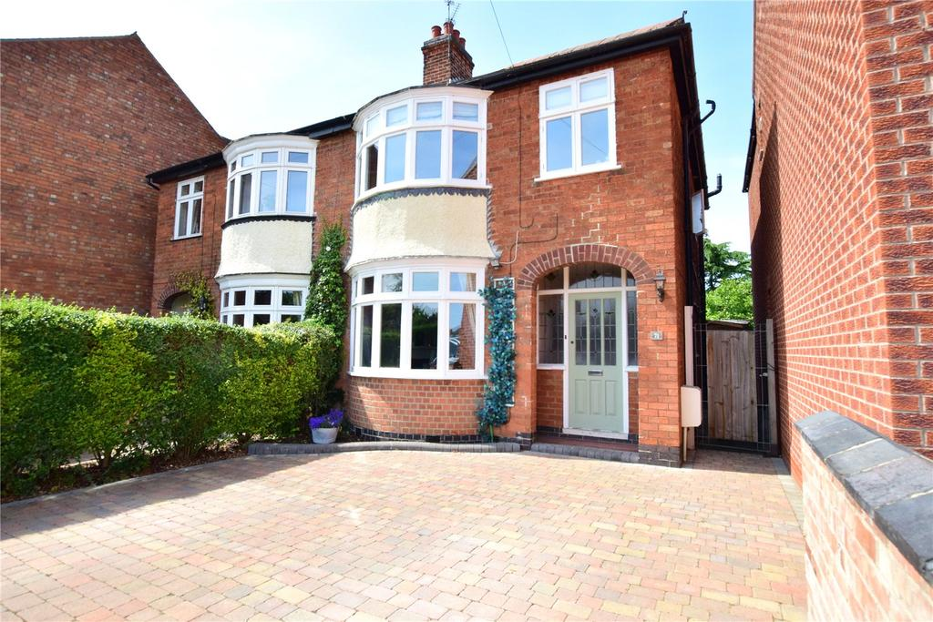 3 Bedrooms Semi Detached House for sale in Middleton Place, Loughborough, Leicestershire