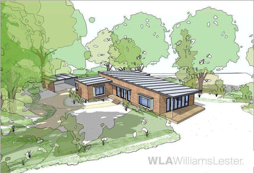 2 Bedrooms Detached House for sale in Merley Park Road, Ashington, Wimborne, Dorset, BH21