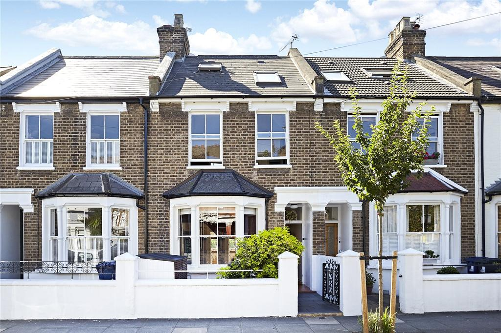 3 Bedrooms Terraced House for sale in Montgomery Road, London, W4