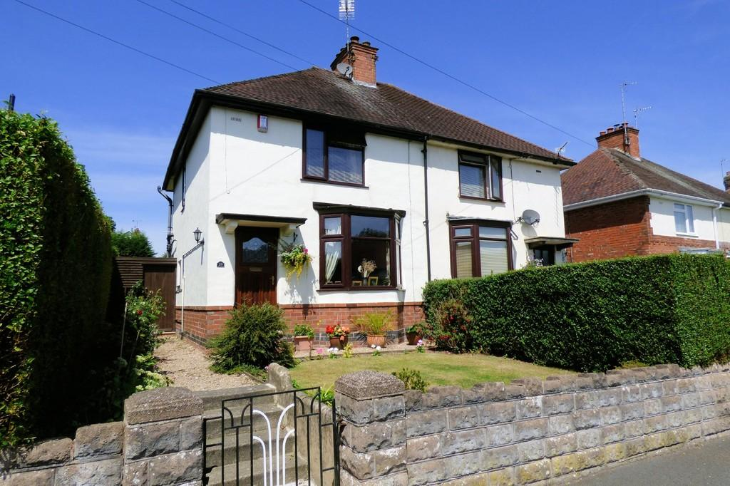2 Bedrooms Semi Detached House for sale in Westlands Road, Uttoxeter