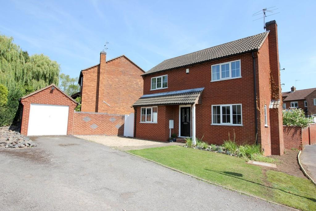 3 Bedrooms Detached House for sale in Pentland Avenue, Shepshed