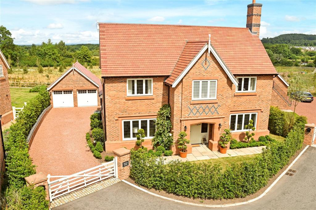4 Bedrooms Detached House for sale in Stretton Green, Tilston, Malpas, Cheshire, SY14
