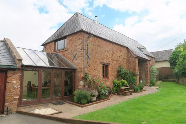 4 Bedrooms Barn Conversion Character Property for sale in Screedy, Milverton, Taunton TA4