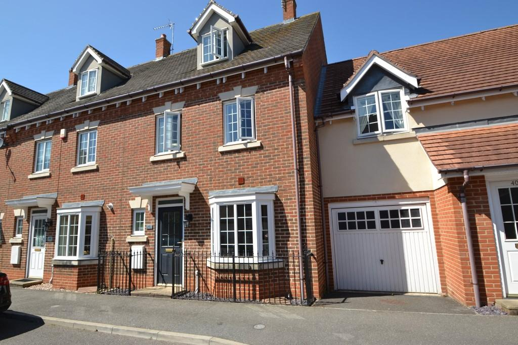 4 Bedrooms Terraced House for sale in Offord Close, Ipswich, Suffolk, IP5 2DD