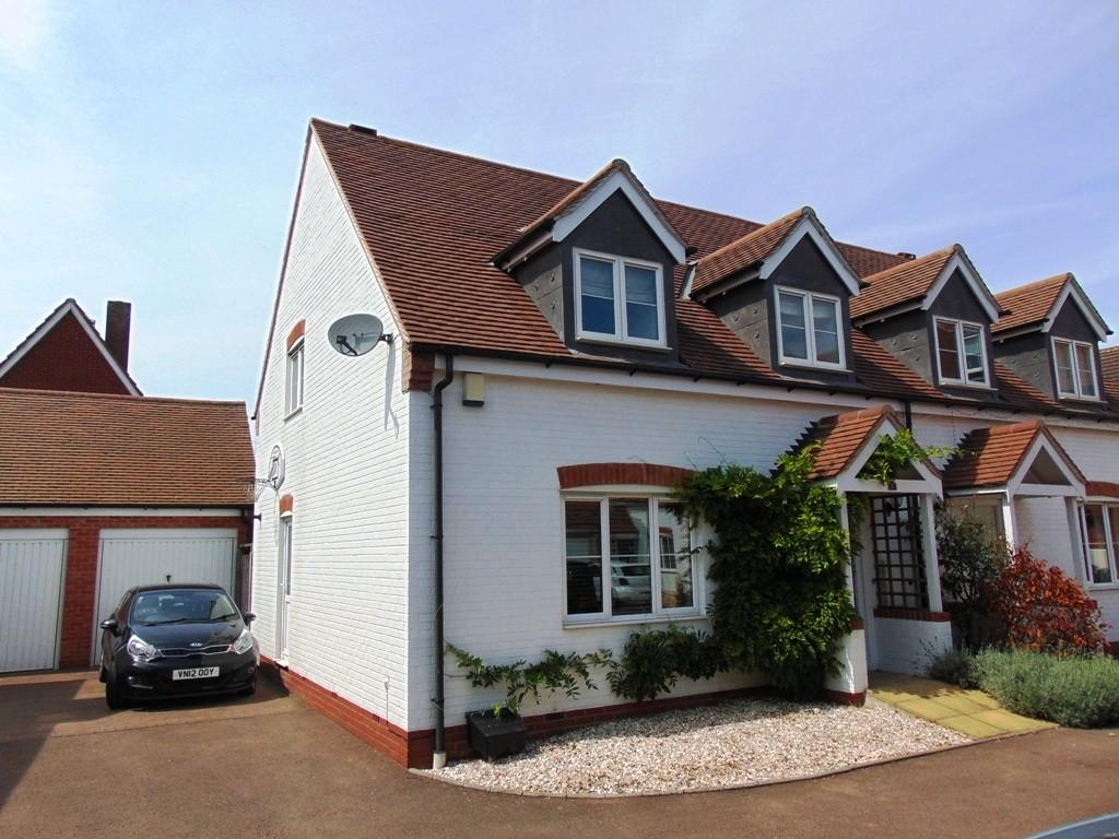 3 Bedrooms Semi Detached House for sale in Legion Court, Middle Littleton