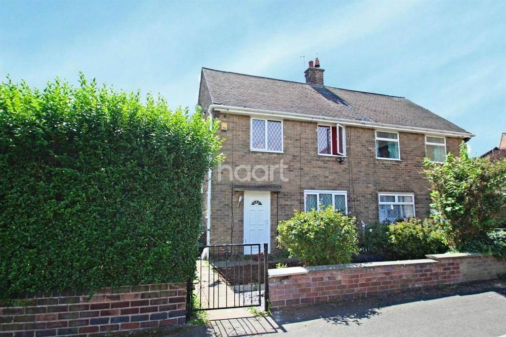 3 Bedrooms Semi Detached House for sale in Lime Tree Road, Hucknall