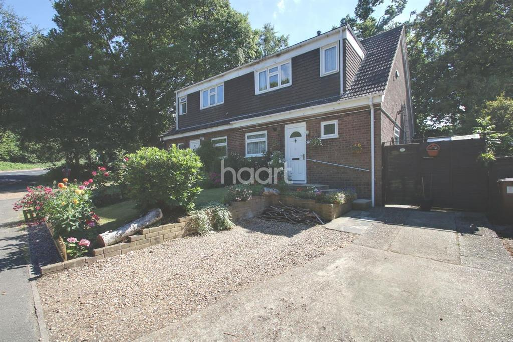 3 Bedrooms Semi Detached House for sale in Clandon Road, Lords Wood