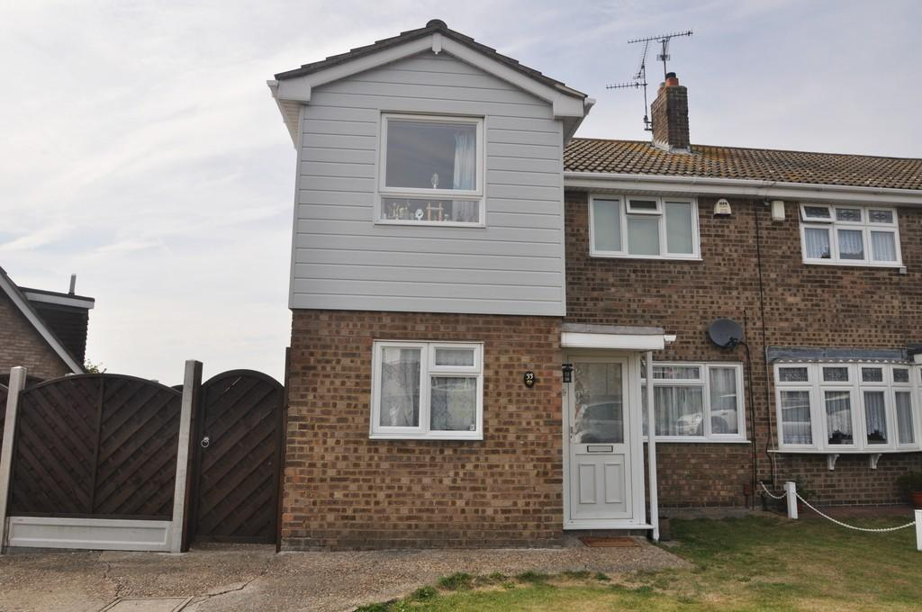 3 Bedrooms Semi Detached House for sale in Halstow Way, Pitsea