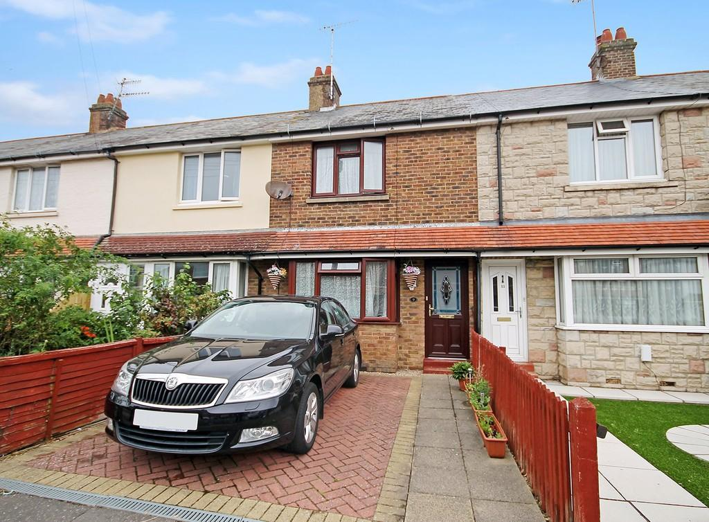 2 Bedrooms Terraced House for sale in Leigh Road, Worthing BN14 9HQ
