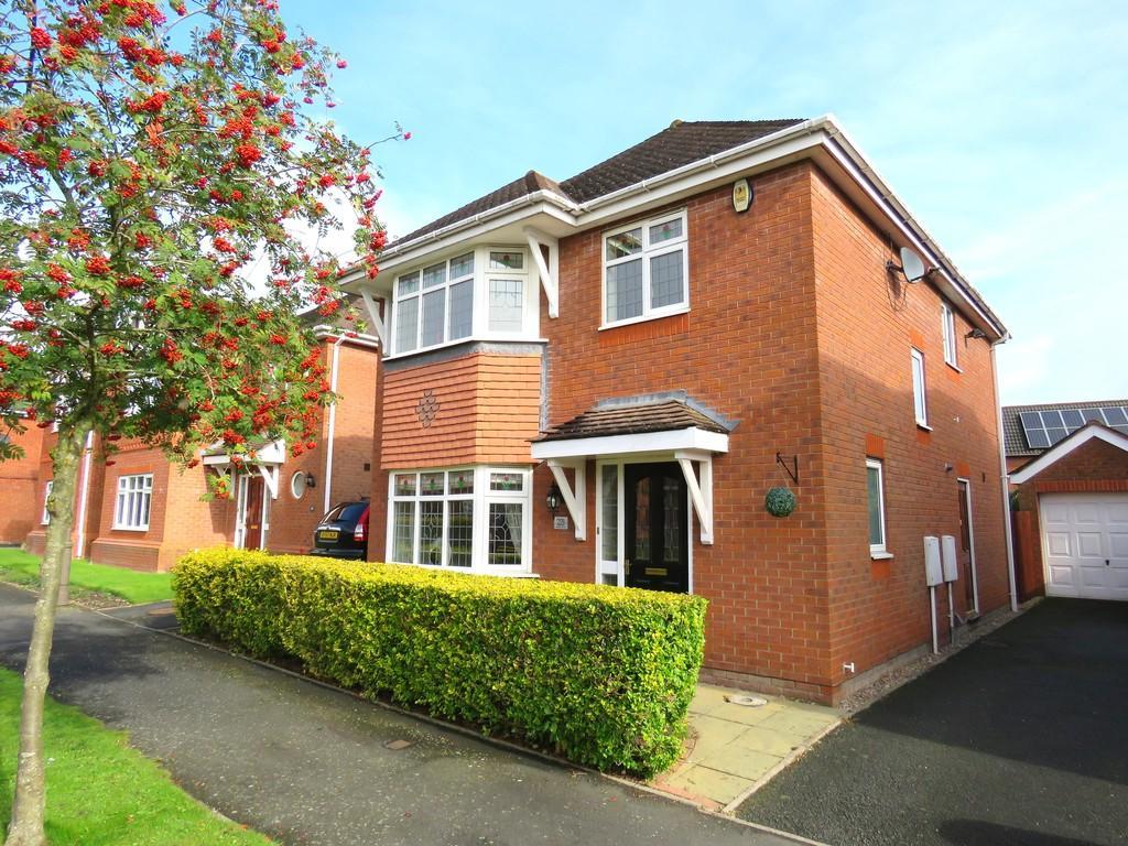 4 Bedrooms Detached House for sale in Brixfield Way, Dickens Heath