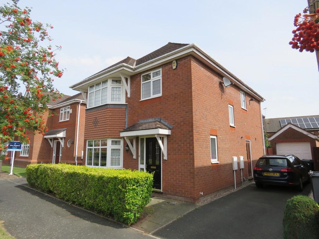 4 Bedrooms Detached House for sale in Brixfield Way, Dickens Heath