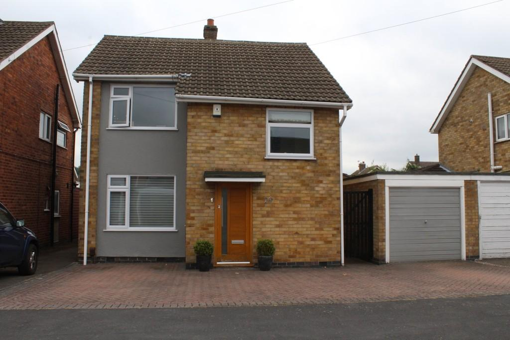 3 Bedrooms Detached House for sale in Gillamore Drive, Whitwick