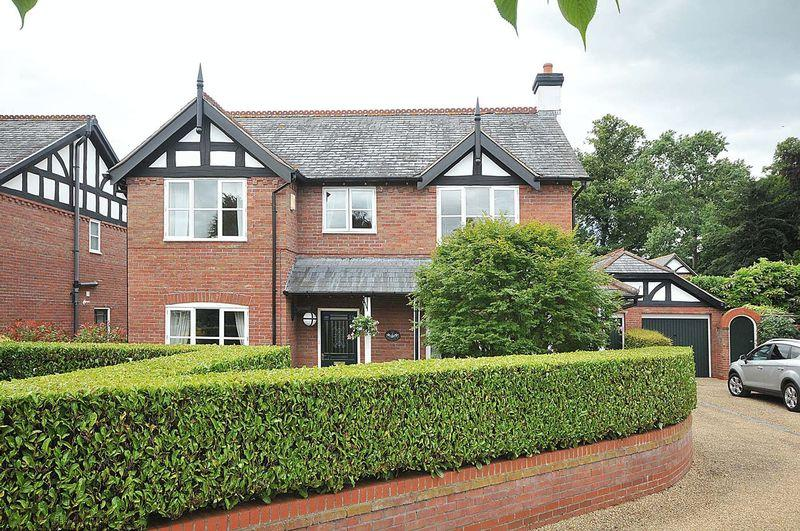 6 Bedrooms Detached House for sale in Detached House with Annexe - Bostock Hall, Bostock