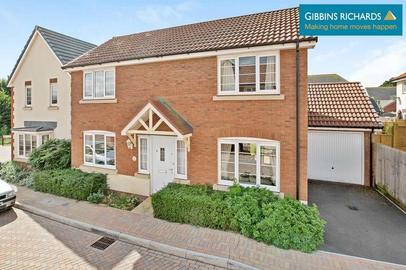 3 Bedrooms Detached House for sale in Rosa Way, Wilstock Village, Bridgwater