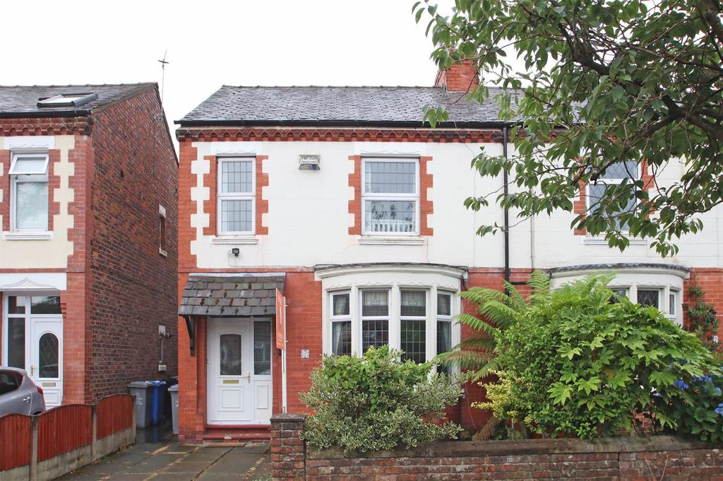 3 Bedrooms Semi Detached House for sale in Windsor Avenue, Flixton, Manchester, M41