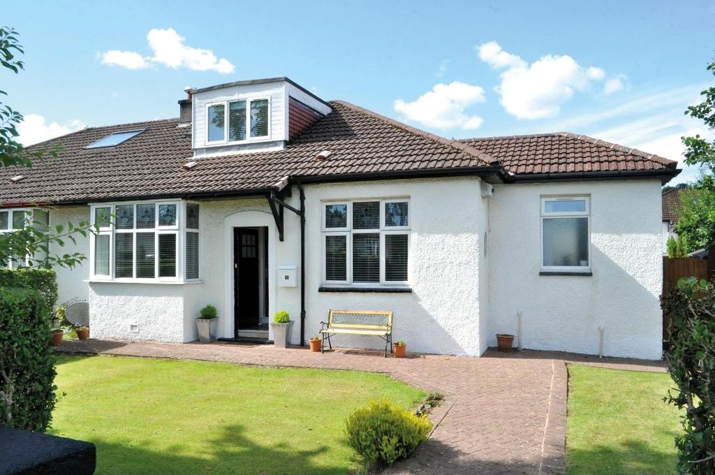 3 Bedrooms Semi Detached House for sale in Roman Drive, Bearsden, East Dunbartonshire , G61 2QL