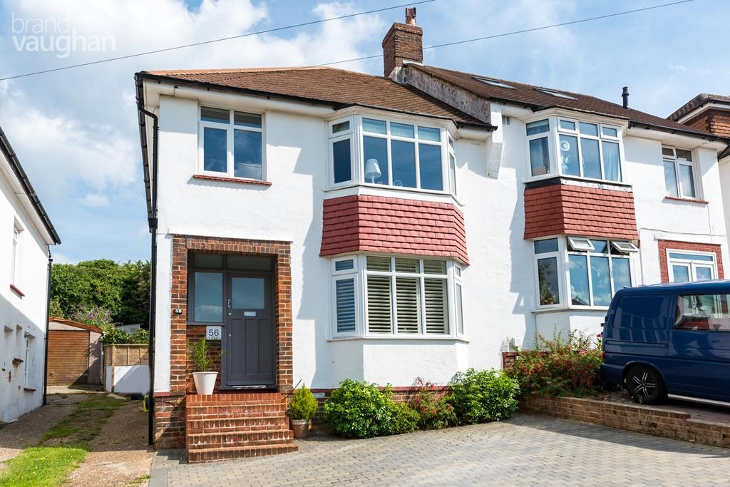 3 Bedrooms Semi Detached House for sale in Mayfield Crescent, Brighton, BN1