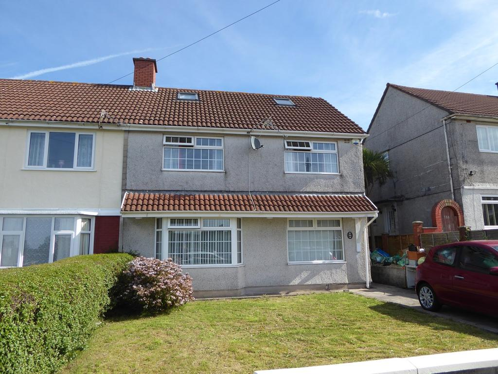 3 Bedrooms Semi Detached House for sale in Heol Gwyrosydd, Penlan, Swansea, SA5
