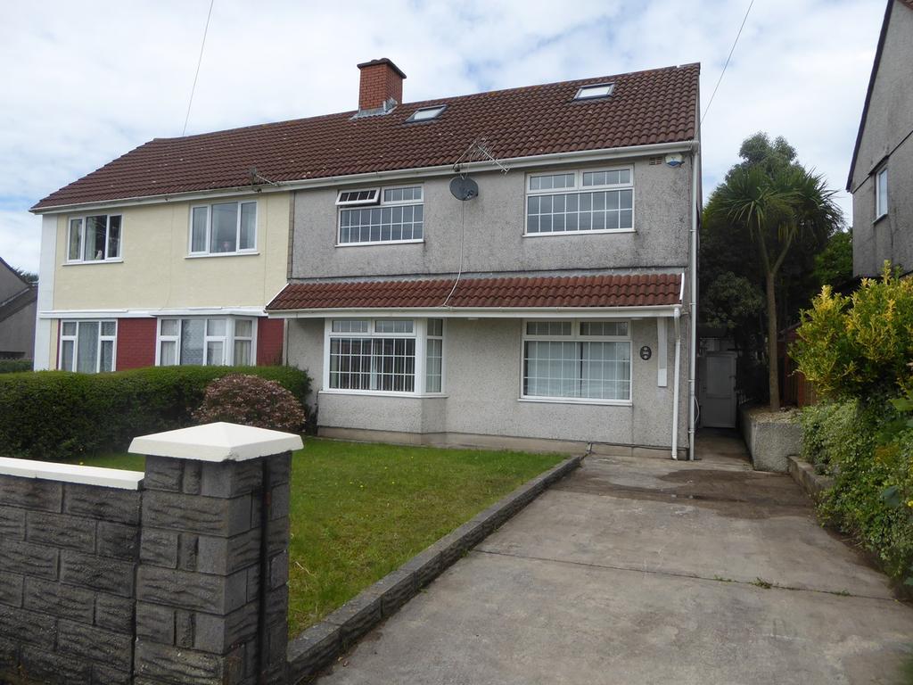 3 Bedrooms Semi Detached House for sale in Heol Gwyrosydd, Penlan, Swansea, SA5