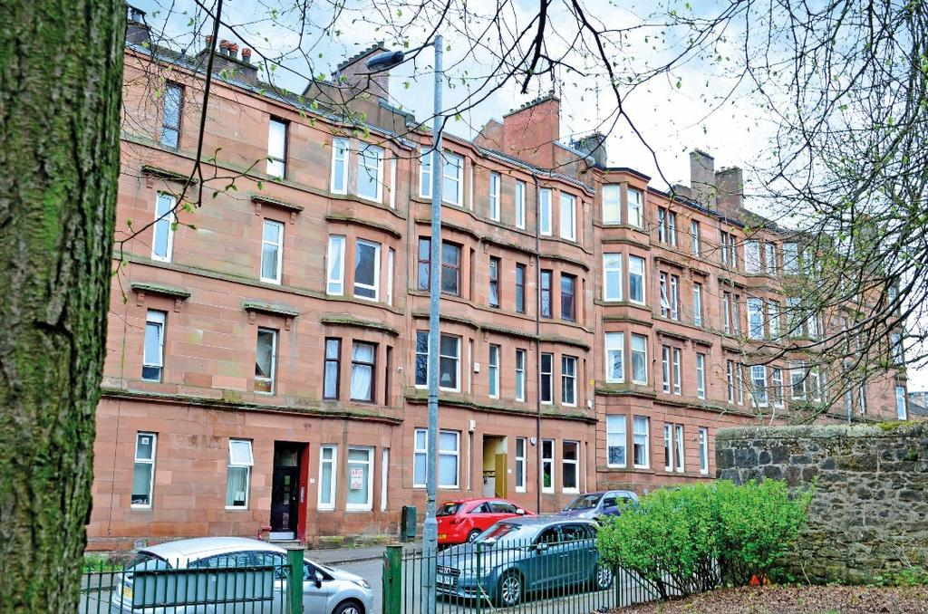 1 Bedroom Flat for sale in Laurel Place, Flat 0/1, Thornwood, Glasgow, G11 7RF
