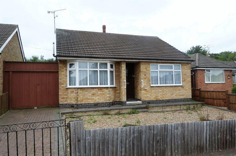 2 Bedrooms Detached Bungalow for sale in Brixham Drive, Wigston, Leicestershire
