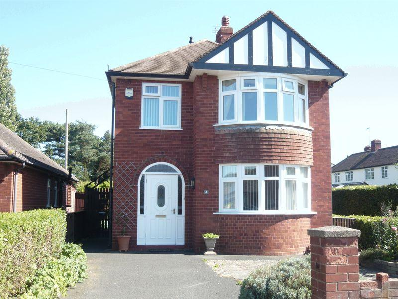 3 Bedrooms Detached House for sale in Swiss Farm Road, Copthorne, Shrewsbury, SY3 8XB