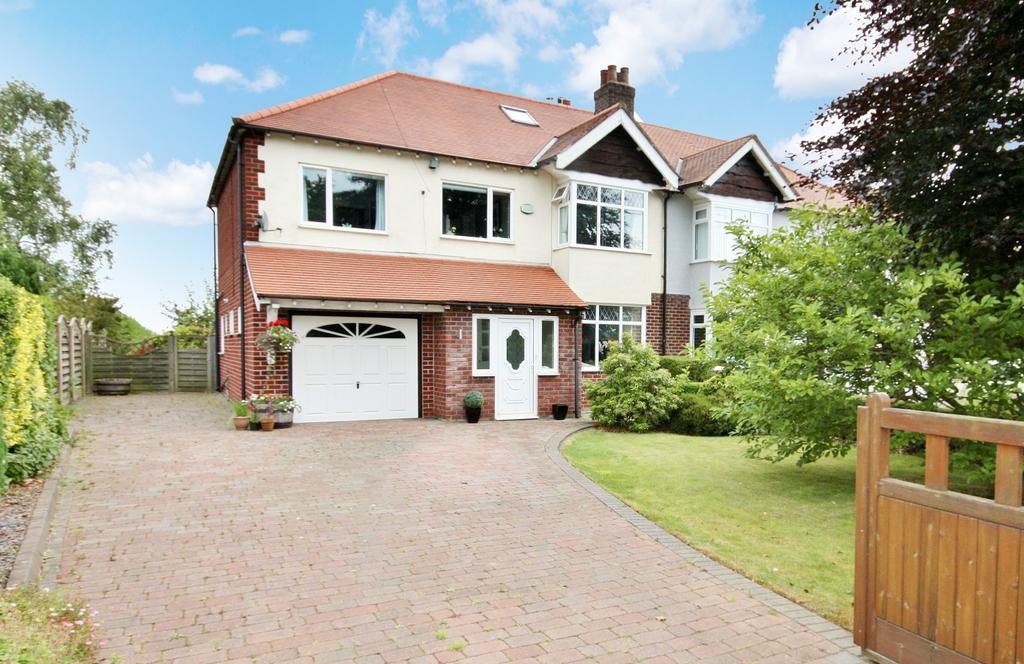 5 Bedrooms Semi Detached House for sale in Wilmslow Road, Mottram St Andrew