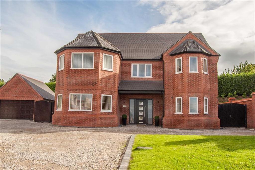 5 Bedrooms Detached House for sale in Hollins Court, Hawarden, Flintshire, Hawarden, Flintshire