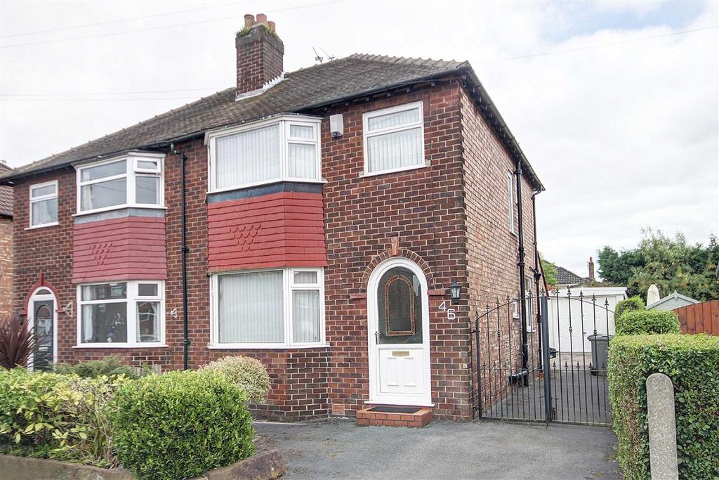 3 Bedrooms Semi Detached House for sale in Vale Road, Timperley, Altrincham