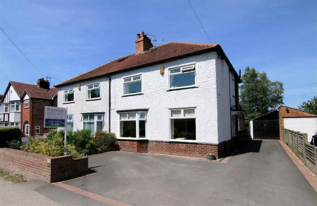 4 Bedrooms Semi Detached House for sale in Grosvenor Road, Tarvin