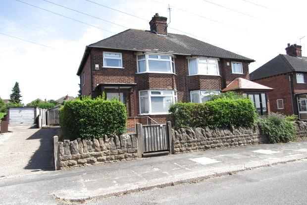 3 Bedrooms Semi Detached House for sale in Tettenbury Road, Basford, Nottingham, NG5