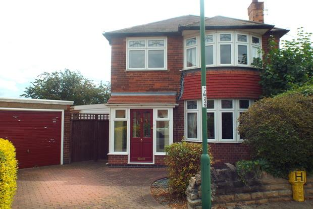 3 Bedrooms Detached House for sale in Woodhall Road, Wollaton, Nottingham, NG8