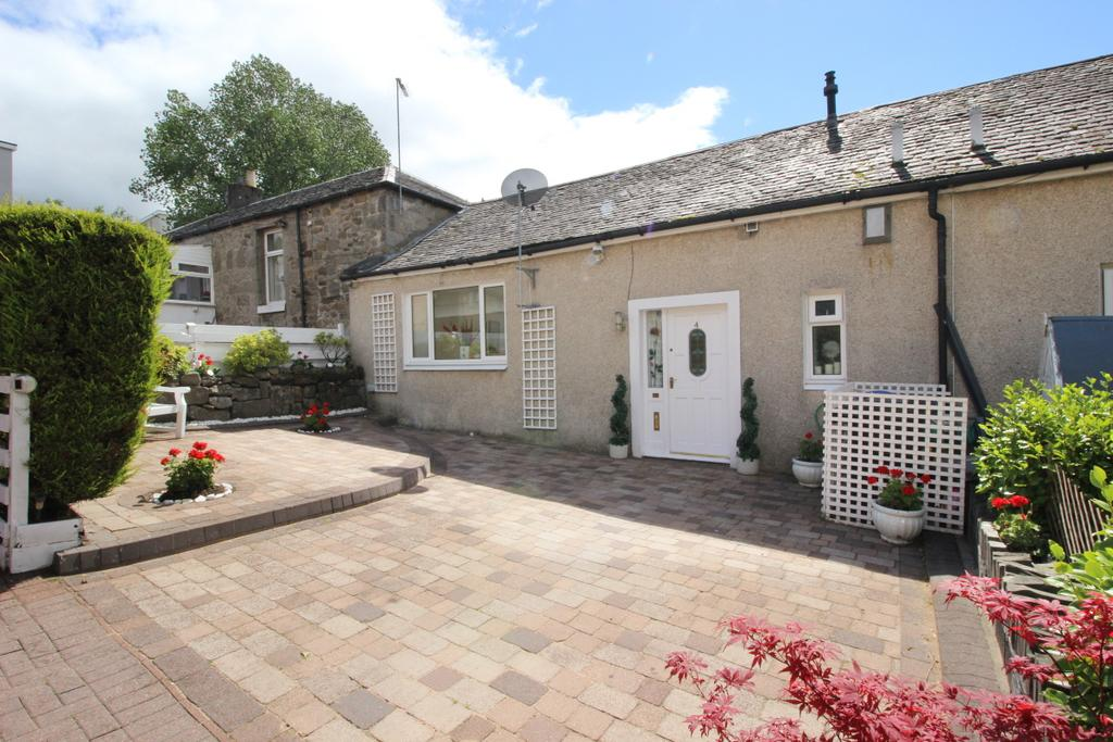 2 Bedrooms Cottage House for sale in 4 Linden Court , Hardgate, G81 6NL