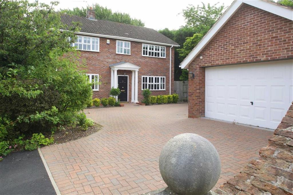 4 Bedrooms Detached House for sale in Betley Hall Gardens, Betley, Cheshire