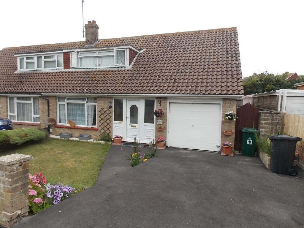 3 Bedrooms Semi Detached Bungalow for sale in Saltdean