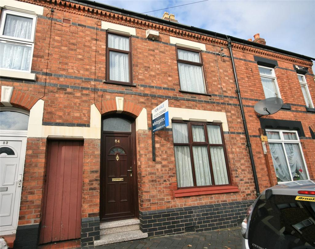 3 Bedrooms Terraced House for sale in Broad Street, Crewe, Cheshire, CW1