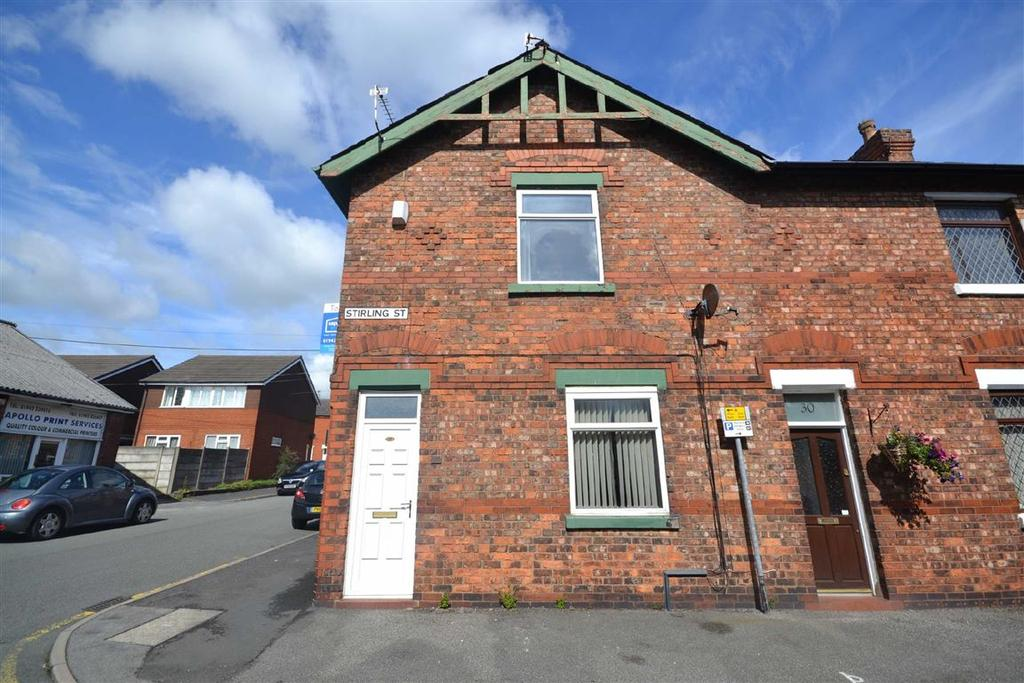 2 Bedrooms End Of Terrace House for rent in Stirling Street, Swinley, Wigan, WN1