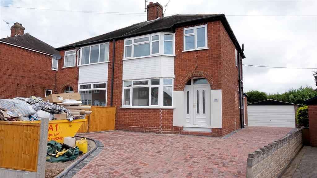 3 Bedrooms Semi Detached House for sale in Kenilworth Grove, May Bank Newcastle, Staffs